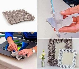DIY Recycled Egg Cartons