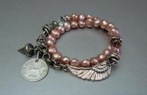 DIY Recycled Jewelry Bracelet
