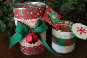DIY Recycled Tin Cans Decorations