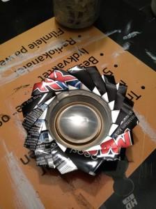 DIY Recyled Tin Can Ash Tray