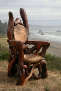 Driftwood Upcycle Chair
