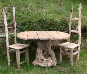 Driftwood Upcycle Furniture