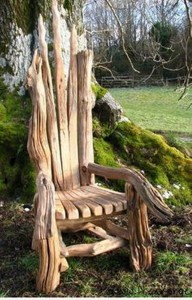 Driftwood Upcycled Furniture Chair
