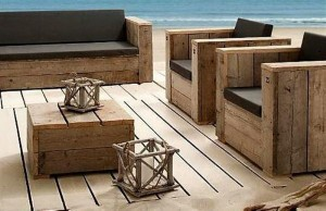Reclaimed Wooden Pallet Furniture Chairs