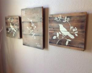 Reclaimed Wooden Pallet Wall Decor