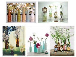 Recycled Bottles Home Decor Crafts