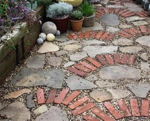Recycled Brick Patio