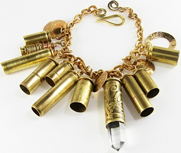 Recycled Bullets Beautiful Bracelet