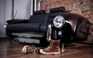 Recycled Car parts Furniture