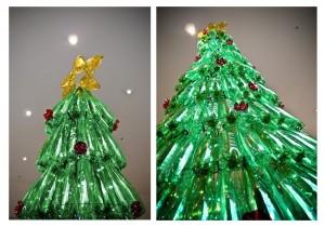 Recycled Christmas Tree Idea
