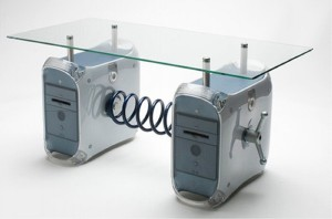 Recycled Electronics Coffee Table