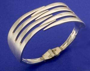 Recycled Forks Jewelry Bracelet