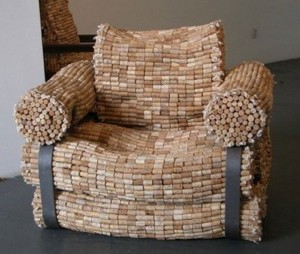 Recycled Furniture Art