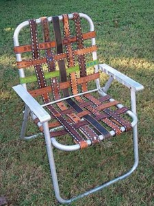 Recycled Furniture Chair
