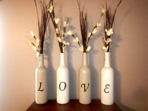 Recycled Glass Bottles Home Decor