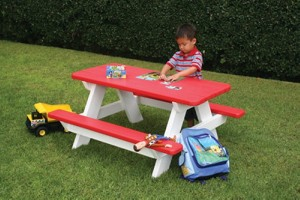 Recycled Kids Bench