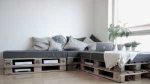 Recycled Pallet Furniture Sofa