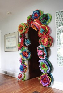 Recycled Paper Beautiful Flowers