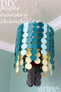 Recycled Paper Chandiler