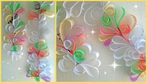 Recycled Paper Elegant Wall Decor