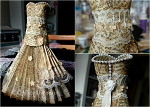 Recycled Papers Innovative Dress