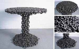 Recycled Scarp Metal Furniture