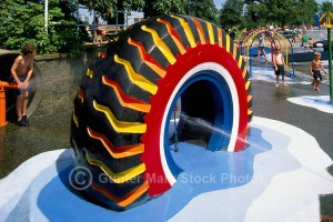 Recycled Tires Playground