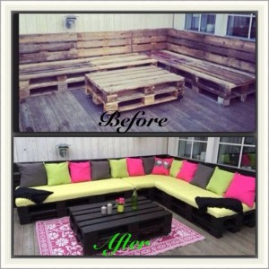 Recycled Wooden Pallet Awesome Outdoor Furniture