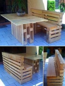 Recycled Wooden Pallet Awesome Patio Furniture