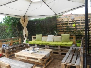 Recycled Wooden Pallet Patio Awesome Furniture