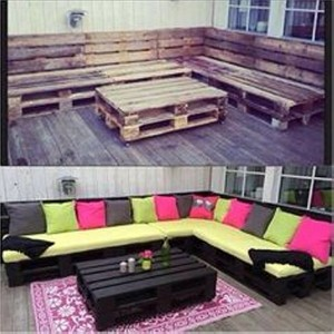 Recycled Wooden Pallets Furniture
