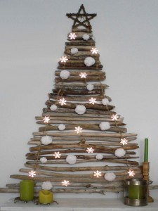 Recycled Woods Christmas Tree