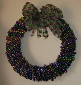 Recycled Wreath for Home Decor