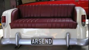 Repurposed Car Part Furniture