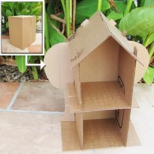 Repurposed Cardboard Kid Toys