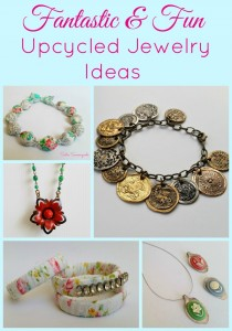 Repurposed & Upcycled Jewelry ideas