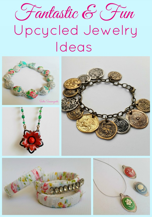 Repurposed & Upcycled Jewelry ideas