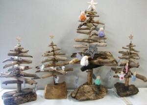 Upcycled Driftwood Decoration Tree