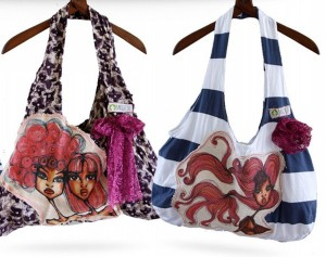 Upcycled Fabric Bags