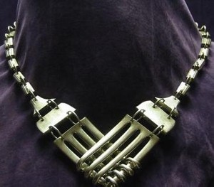 Upcycled Forks Nacklace