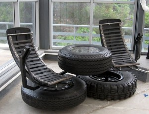 Upcycling Tires Furniture