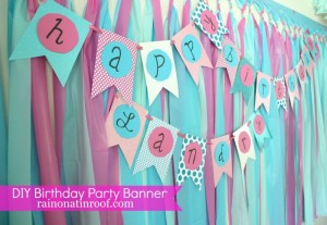 DIY Birthday Party Decoration