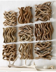 DIY Driftwood Wall Designs