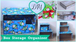 DIY Easy Storage Box Idea