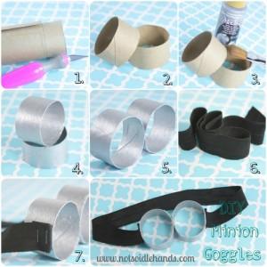 DIY Minion Goggles