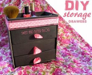 DIY Storage Drawers