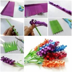 DIY Swirly Paper Flower
