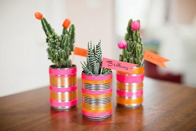DIY Tin Cans Home Decor