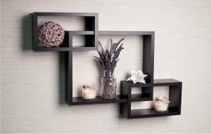 Elegant Wooden Wall Shelves
