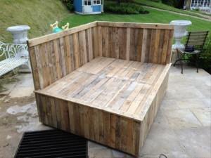 Pallet Bed Frame Plan